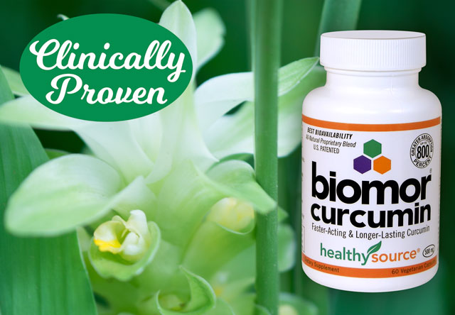 NO Synthetic curcumin. BIOMORCurcumin is 100% Turmeric and All Natural. Click here for more.
