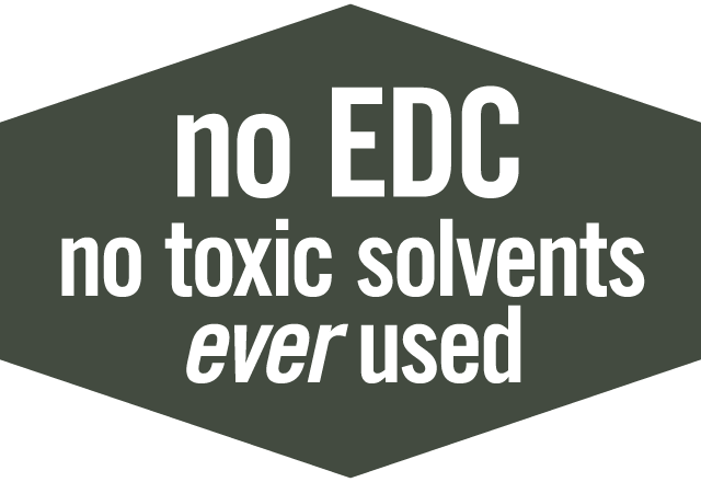 NO EDC, No Toxic Solvents